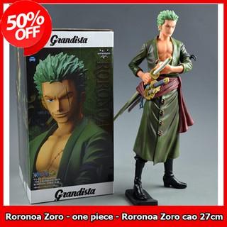 Mô hình nhân vật Roronoa Zoro - nhân vật one piece - Roronoa Zoro cao 27cm thumbnail