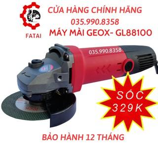 Máy Mài Cầm Tay GEOX GL82100A | TẶNG ĐĨA CẮT | CÔNG NGHỆ CHỐNG NÓNG | Công Suất 720W