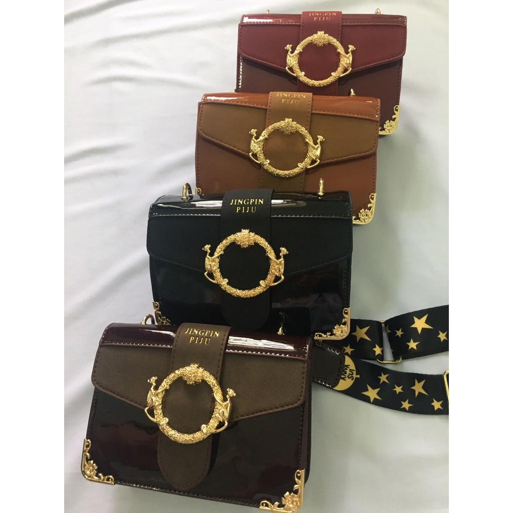 Túi đeo chéo Nữ thời trang THUTU - TH0975 - Da bóng cực đẹp