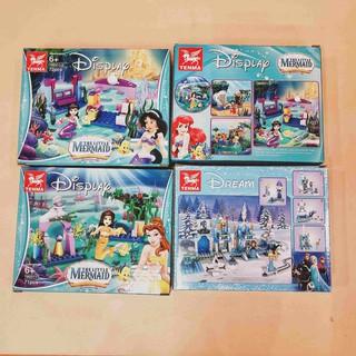 Bộ đồ chơi Lego công chúa Disney