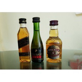 Combo 3 chai mini trang trí nhà búp bê