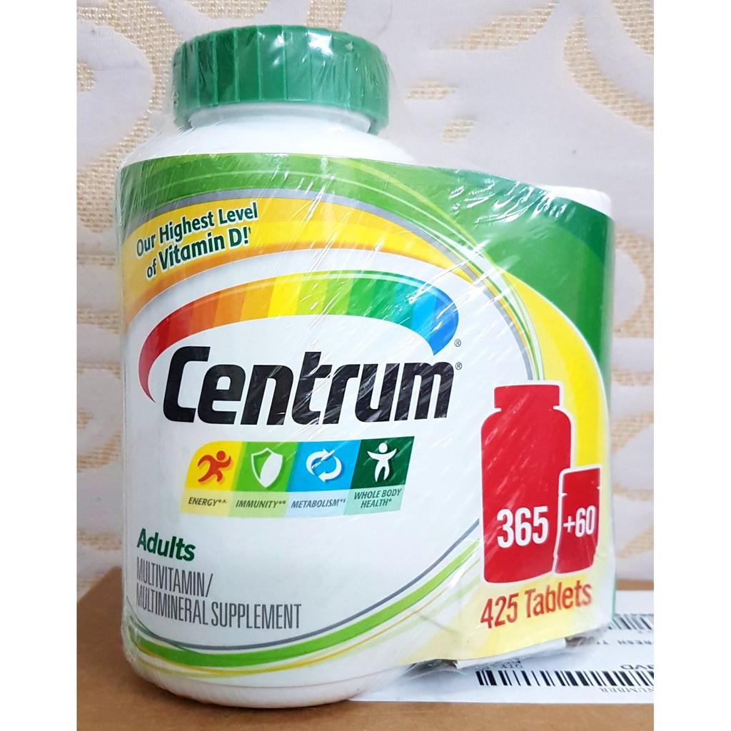 Centrum 425 viên centrum Adults từ Mỹ. Vitamin centrum tổng hợp cho nam và nữ, date 12/2019 - 2897179 , 121206094 , 322_121206094 , 650000 , Centrum-425-vien-centrum-Adults-tu-My.-Vitamin-centrum-tong-hop-cho-nam-va-nu-date-12-2019-322_121206094 , shopee.vn , Centrum 425 viên centrum Adults từ Mỹ. Vitamin centrum tổng hợp cho nam và nữ, date