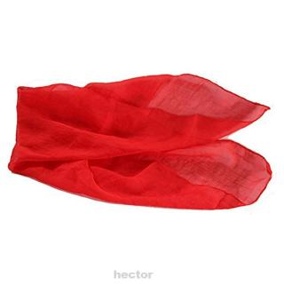 Red Trick Toys Stage Performance Magicians Magic Prop Funny Home Soft Silk Scarf