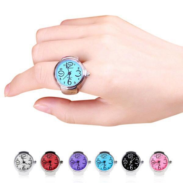 Đồng hồ quartz chạy kim mặt tròn sáng tạo