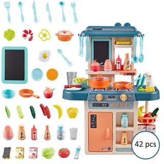 Bộ đồ chơi nhà bếp nấu ăn 42 chi tiết loại lớn
