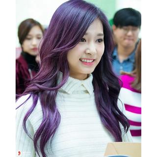 Thuốc nhuộm tóc ADCC màu Violet hoa cà +tặng kèm trợ dưỡng(5.7) thumbnail