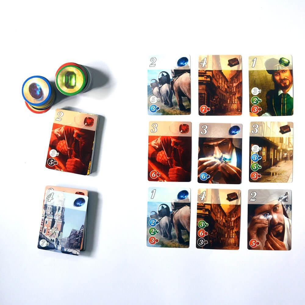 Boardgame Chiến Thuật Splendor - Thu Thập Đá Quý
