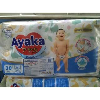 ( GIÁ 1 tã dùng thử) Tã quần Ayaka Nutifood (công nghệ Nhật Bản) S32 M30 L28 Xl26 XXL24 thumbnail
