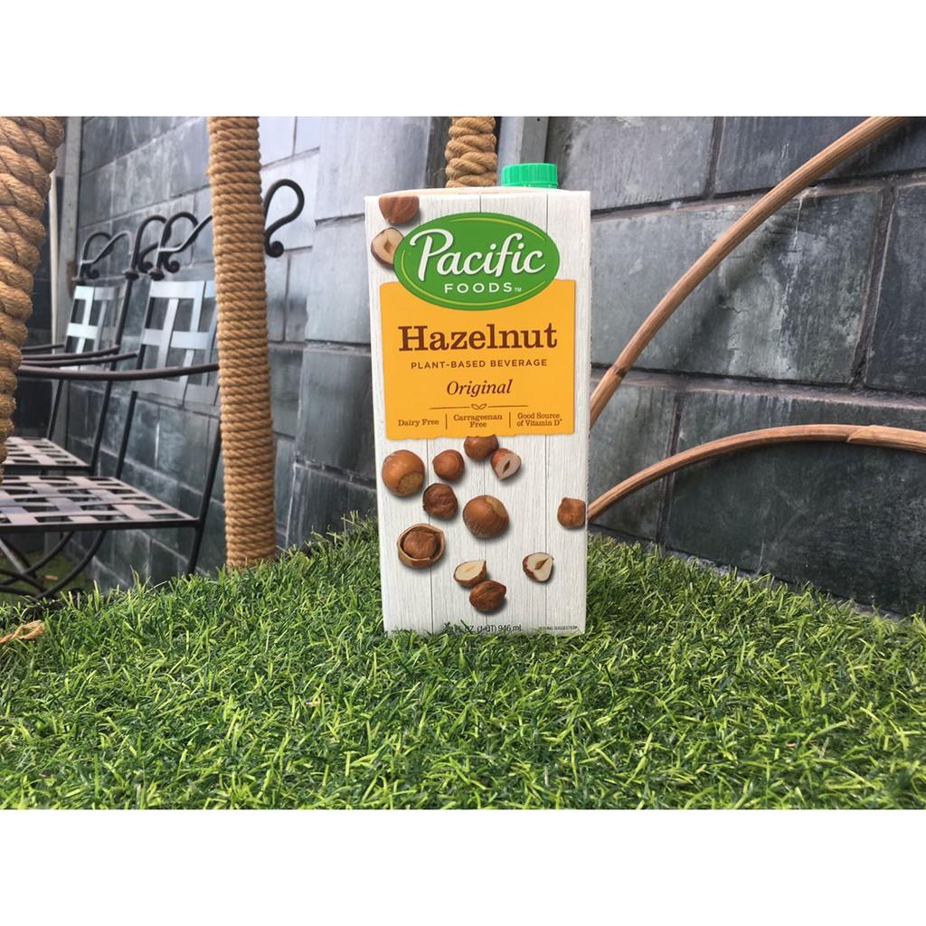 Sữa hạt dẻ hazelnut Pacific Foods 946ml của Mỹ (SF) Sữa hạt dẻ hazelnut Pacific Foods 946ml của Mỹ (SF)