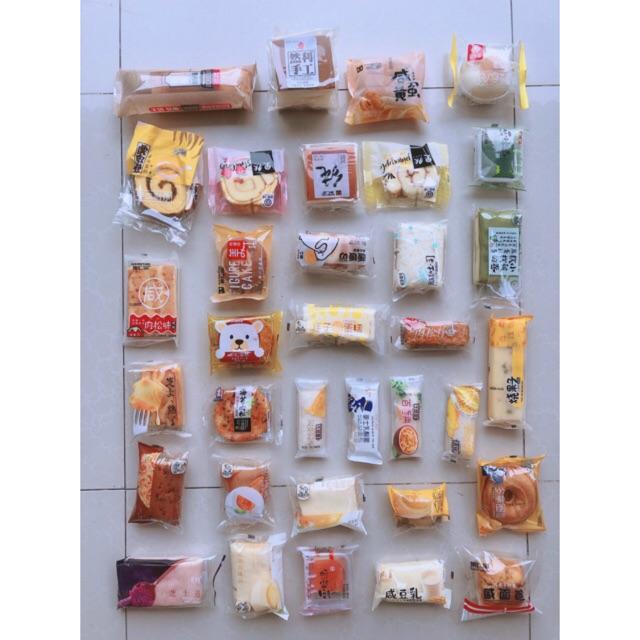 Bánh Đài Loan - Bánh mix 1kg được lựa vị ( ib shop gửi hình cho bạn chọn )