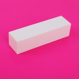 Dũa móng tay dạng khối màu trắng đa năng chất lượng cao thumbnail