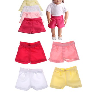 ❤❤Fashion Doll Shorts Pants for 18inch American Girl Baby Born Zapf Dolls Clot