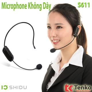 [Mã ELFLASH5 giảm 20K đơn 50K] MicroPhone Không Dây Cho Máy Trợ Giảng SHIDU S611
