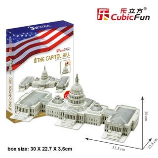Đồ chơi xếp hình 3D cỡ lớn – Mô hình The Capitol Hill