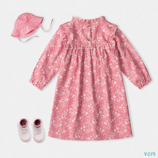Váy Dáng Xoè Xinh Xắn Cho bé 2 Màu Hoa Thời Trang BELLO LAND thumbnail