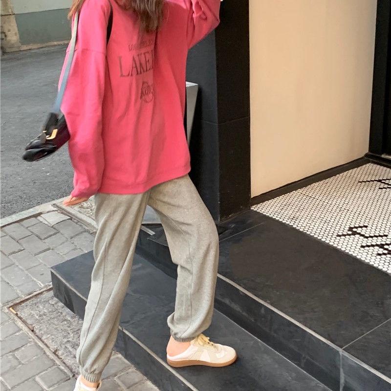 Nữ net nổi tiếng đầu thu thời trang giản dị suit new ins phong cách Hàn Quốc Áo cánh rộng...
