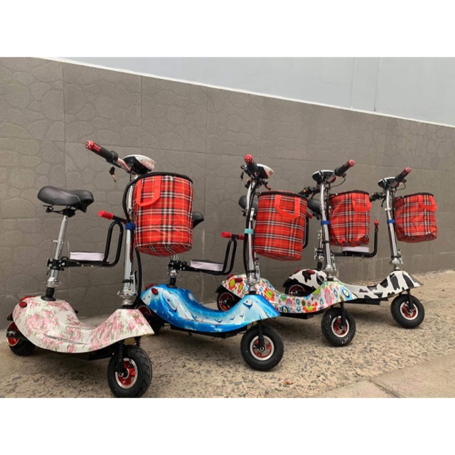 Xe điện Scooter 8 inch cao cấp