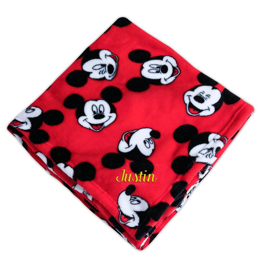 Chăn lông siêu nhẹ Disney- xách tay Mỹ- có bill chính hãng