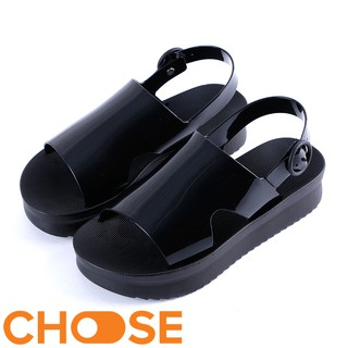Giày Nữ Cao Su Choose Sandal Nữ Quai To Kiểu Dáng Mới Năm 2019 Mẫu G1806 thumbnail