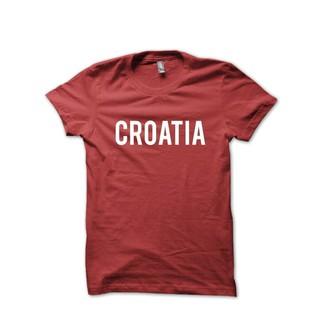 Áo Thun In Hình Số 30s Croatia Distro Home World Cup 2018