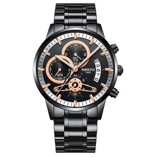 Đồng hồ nam dây thép đặc 6 kim Nibosi 2309 (fullbox, bảo hành 12 tháng) thumbnail