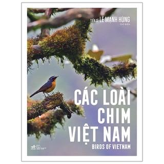 Sách Các Loài Chim Việt Nam