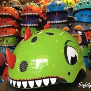 Mũ bảo hiểm hình khủng long c