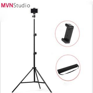 MVN Studio - Chân đèn livestream,chân đèn flash dùng chụp ảnh quay phim chiều cao 2m1 - hàng chính hãng Refutuna