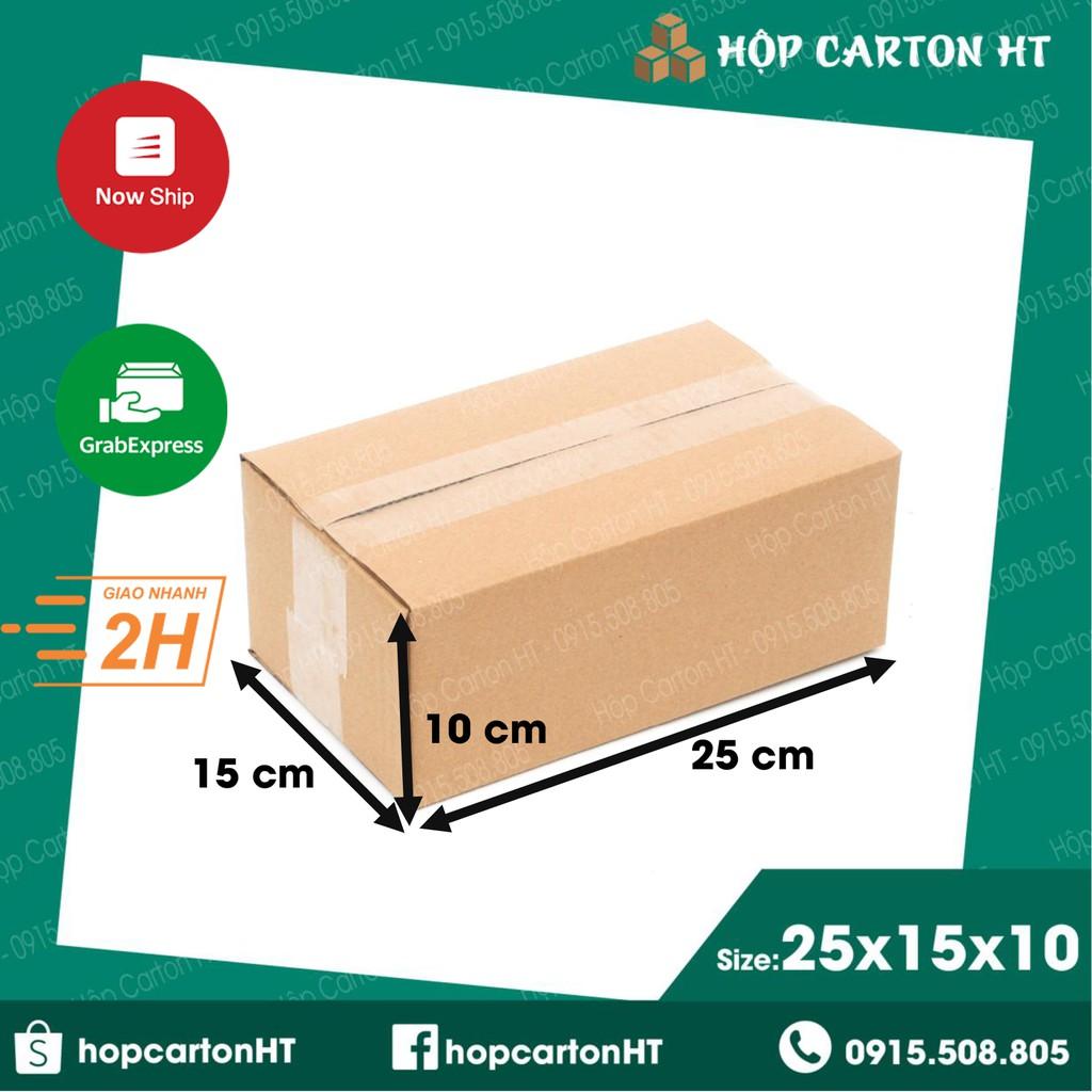 25x15x10 Hộp carton đóng