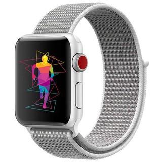 *Dây đeo Apple Watch chất liệu Nylon cao cấp ôm tay cho Series 5/4/3/2/1 size 38 /40/ 42/ 44