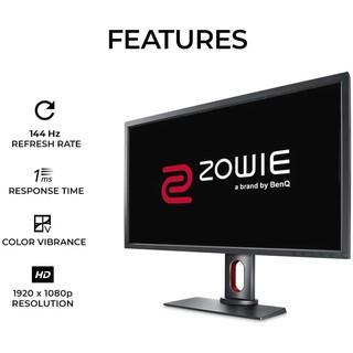 Màn hình BenQ Zowie XL2731 27 inch Full HD 1920 x 1080 1ms 144Hz TN thumbnail