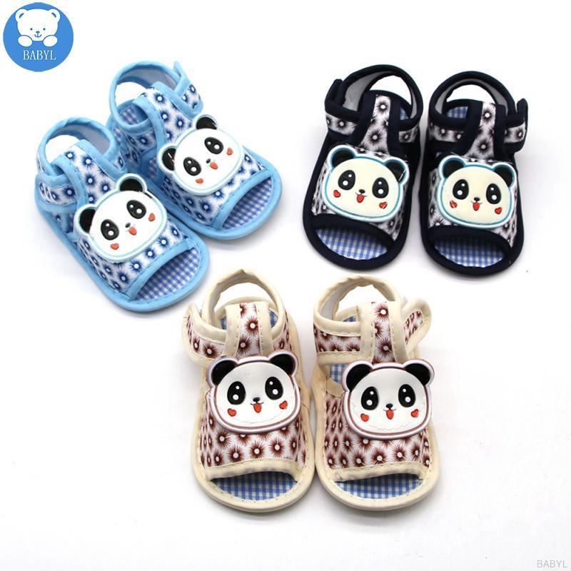 Giày sandal đế mềm họa tiết hoạt hình cho bé trai gái