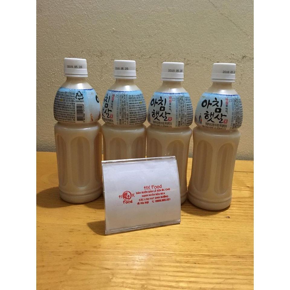 Nước gạo Hàn Quốc combo 4 chai 500ml