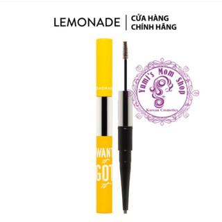[Mã COS0303 giảm 8% đơn 250K] Chì kẻ mày 2 đầu Lemonade Want It Got It Dual Eyebrow 4g thumbnail