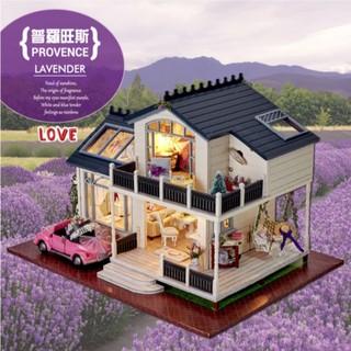 Mô hình nhà gỗ DIY Biệt Thự Lavender