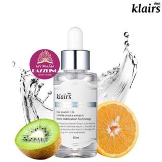 [Chính Hãng] Tinh Chất Vitamin C Dưỡng Trắng Da Klairs Freshly Juiced 35ml thumbnail