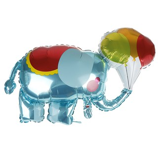 ωCOAωElephant modeling aluminum balloon holiday party atmosphere decorative toys