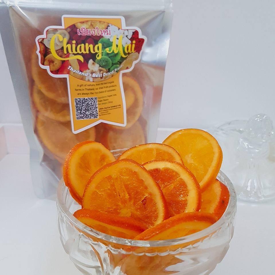 Mứt cam vàng ChiangMai Thái Lan 250gram- Cam vàng sấy dẻo