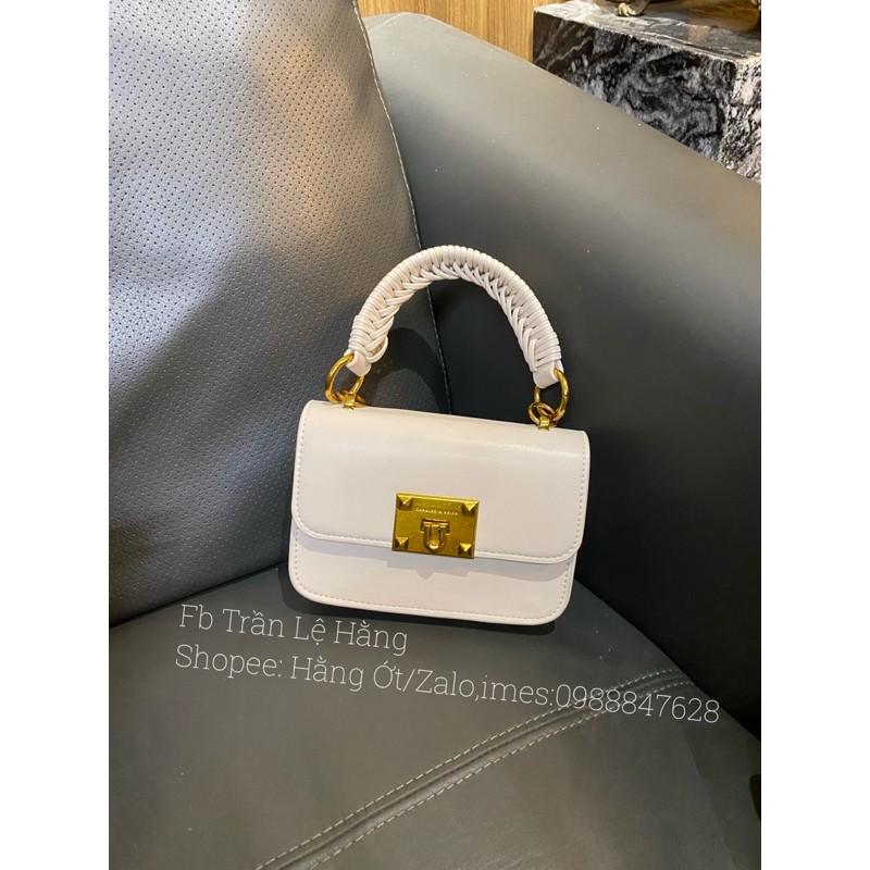 Túi Chữ K sz mini 18cm có tay cầm