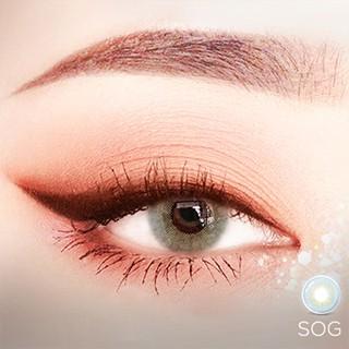 [TẶNG KÈM QUÀ] Lens mắt xám tây sáng SOG - Angel Eyes chất liệu Silicone - GDIA 13.3 - Độ cận 0-6 thumbnail