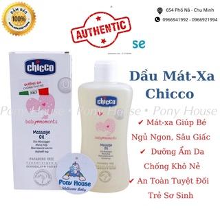 Dầu massage Chicco - Dầu Mát Xa Chiết Xuất Tinh Dầu Cám Gạo, Vitamin E An Toàn Tuyệt Đối Cho Bé Từ Sơ Sinh thumbnail