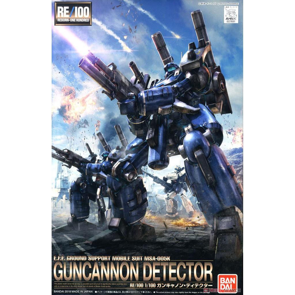 Mô hình lắp ráp Gundam RE 1/100 Guncannon Detector