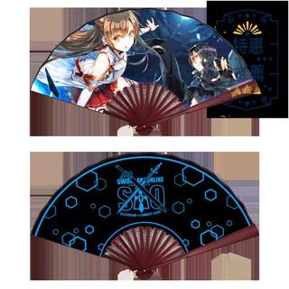 Quạt Lụa In Hình Anime Sword Art Online 10 Inch