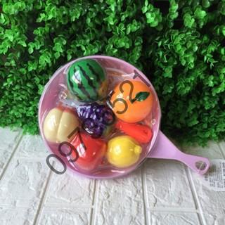 Sỉ 1 bộ hoa quả cho bé