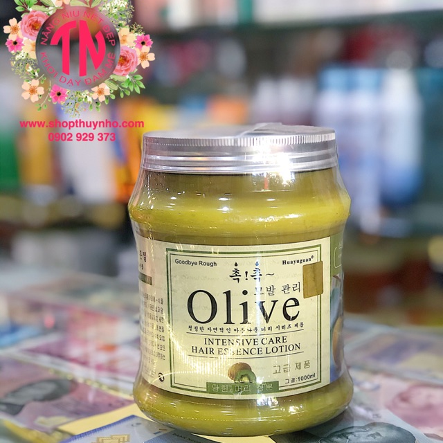 Kem hấp dầu tóc Olive Hàn Quốc