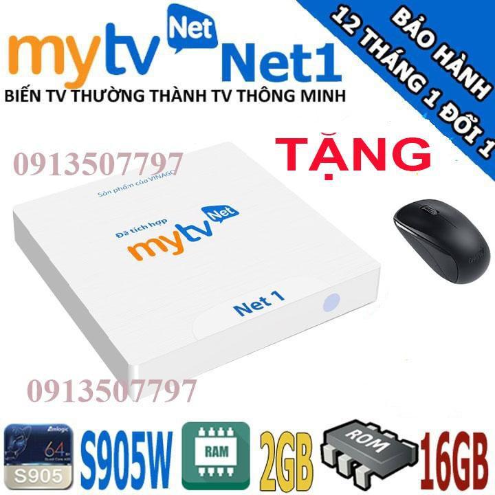 [Mã ELMS4 giảm 7% đơn 500K] mytv box ram 2g rom 16g xem truyền hình miễn phí tặng chuột không dây