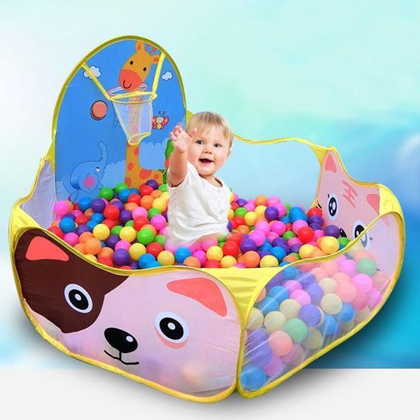 [Giá Shock] Lều bóng hình thú kèm 150 bóng nhựa cho bé
