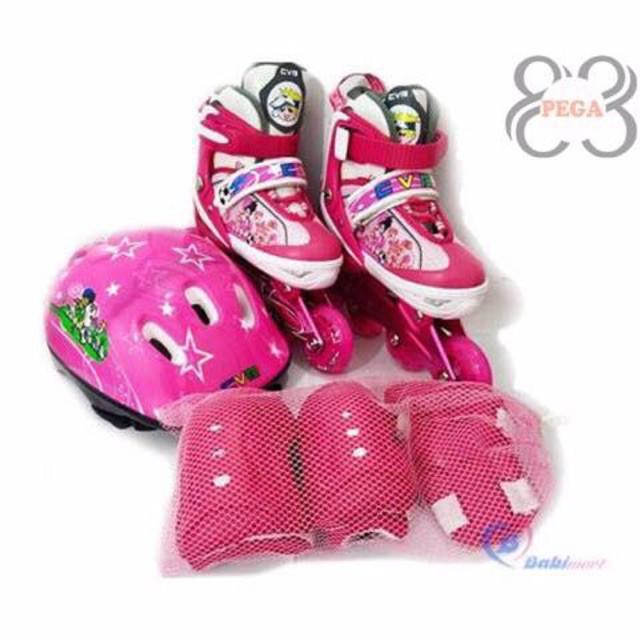 (GIÁ CỰC RẺ)Giới thiệu sản phẩm Bộ Giày Patin CVB102 + Găng Tay + Mũ Bảo Hiểm