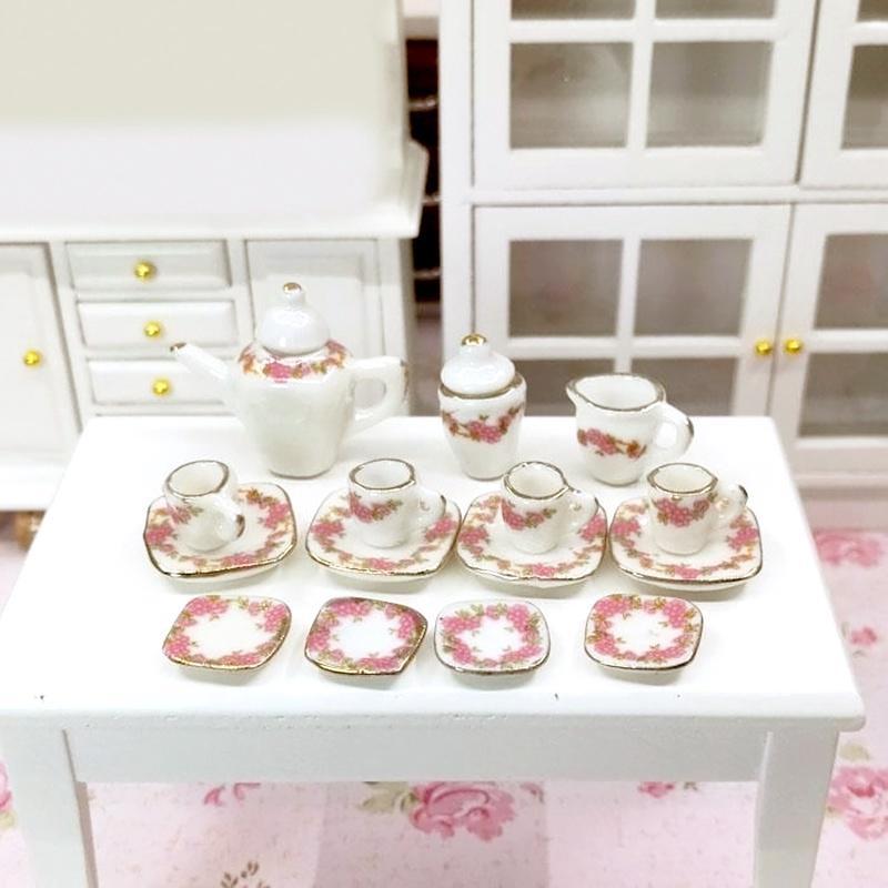 Miniature dollhouse Ware Dining Porcelain