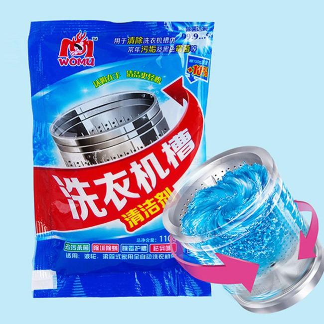 Bột Tẩy Lồng, Vệ Sinh Máy Giặt Hàn Quốc Gói 450g Tẩy Rửa Cực Mạnh - Hiêu Qủa Tức
